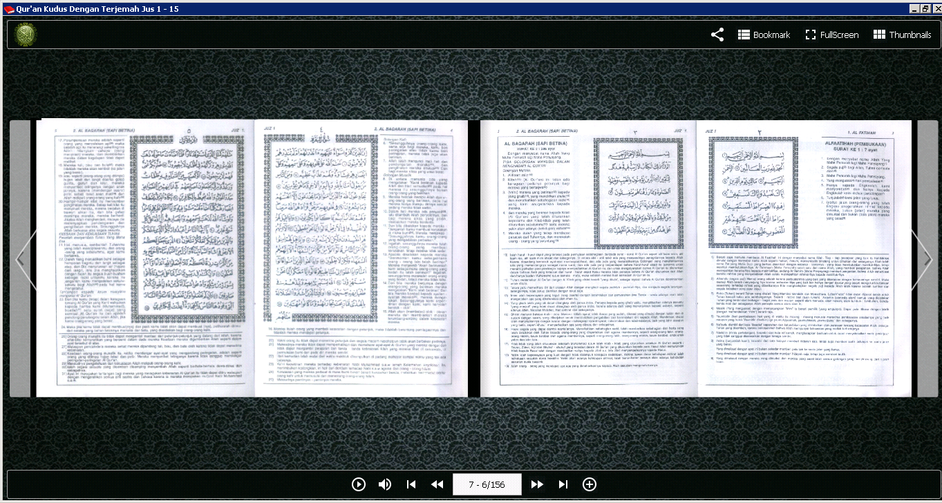 Qur'an Kudus Versi Digital 1